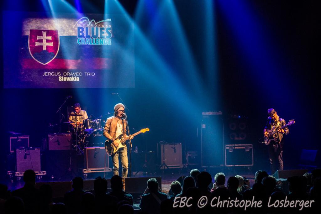 Jergus Oravec Trio (SK) @ European Blues Challenge 2015