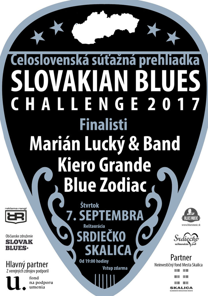 Slovakian Blues Challenge 2017 Skalica