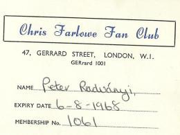 Farlowe-Membership