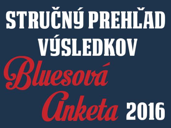 Prehľad výsledkov Bluesovej ankety 2016 portálu Bluesmusic.sk