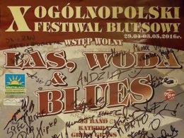 Las, Woda & Blues 2016. Jeden z najväčších bluesových festivalov v Poľsku.
