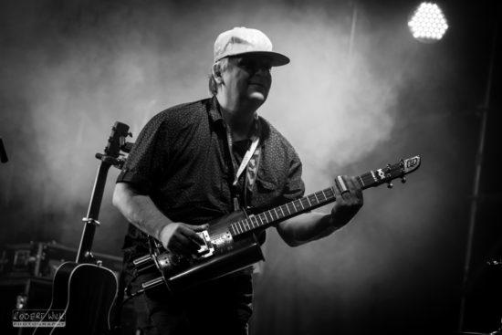 Ľuboš Beňa na Przeworsk Blues Festivale 2016 v Poľsku.