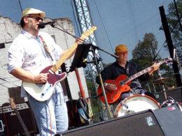 Slovak Blues Project na festivale v Břeclavi v kompletnom zložení.