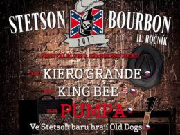 V Otrokovicích se uskuteční další ročník hudebního festivalu Stetson and Bourbon Velký sál Otrokovické Besedy dne 4. litopadu 2017