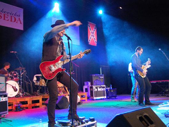 Festival Stetson and Bourbon Otrokovice zaměřený na blues a jižanský rock