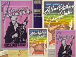 V New Yorku uskutoční dražba predmetov z pozostalosti amerického bluesrockového gitaristu Johnny Wintera.
