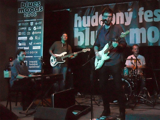 Festival Blues Moods 2016 v Trnave