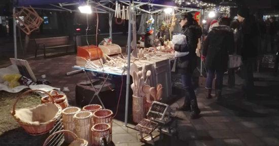 Koncert Ľuboša Beňu & Bonza Radványiho na Vianočných trhoch v Seredi