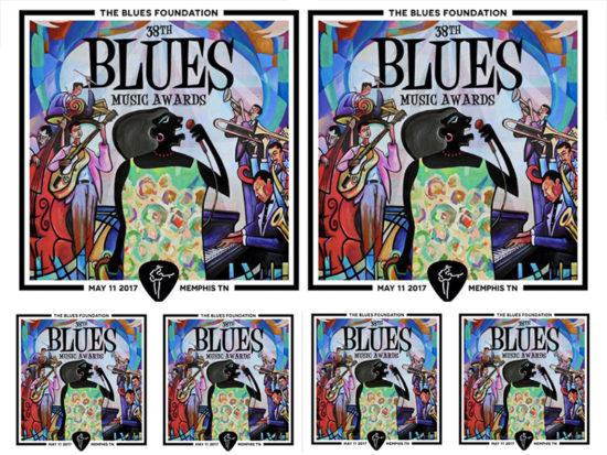Výročné Blues Music Awards 2017 ocenenia pre bluesových umelcov na celom svete