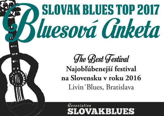 Najobľúbenejší festival na Slovensku v roku 2016 Livin´Blues Bratislava