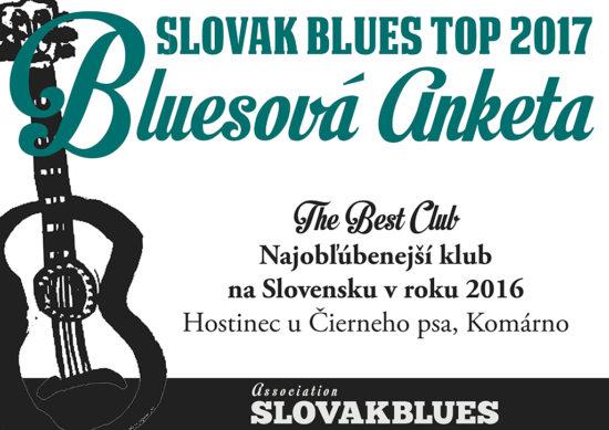Najobľúbenejší klub na Slovensku v roku 2016 Hostinec u Čierneho psa Komárno