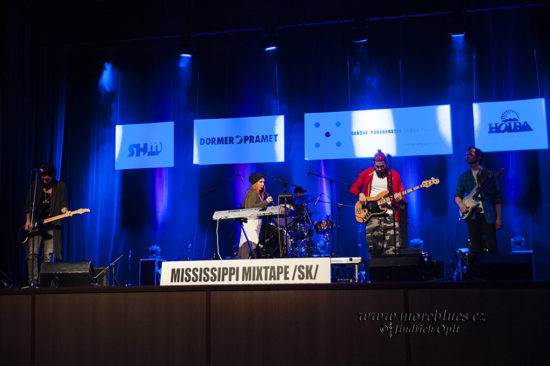 Mississippi Mixtape na souteži Blues Aperitiv 2017