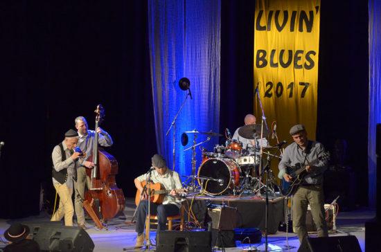 Mojo Workings zahrali na festivale Livin Blues 2017 v Bratislave
