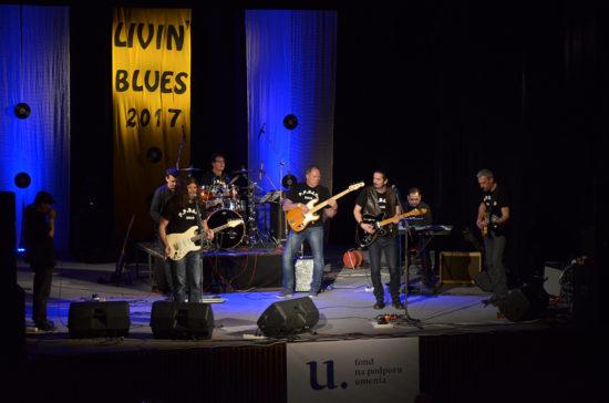 P. P. Band zahrali na Livin Blues 2017 v Petržalke