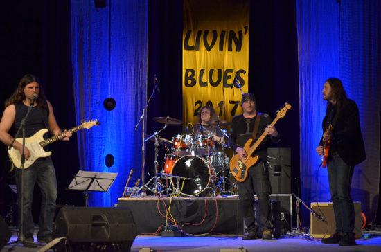 Žalman Brothers Band na festivale Livin Blues 2017 v Bratislave
