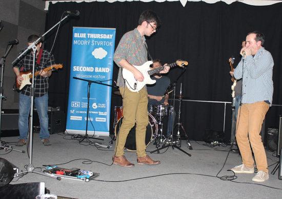 Second Band a Andy Kelemen na Modrom štvrtku v Trnave