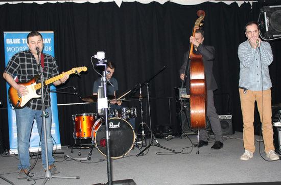 Secon Band v rámci Modrého Štvrtku zahral v Trnave