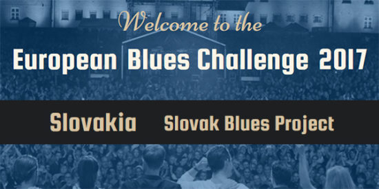 Slovak Blues Project na European Blues Challenge 2017