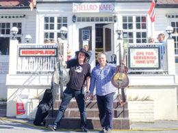 Slovenskí bluesmani Ľuboš Beňa a Bonzo Radvány vystupovali na festivale Fjellro Blues Festival v Nórsku
