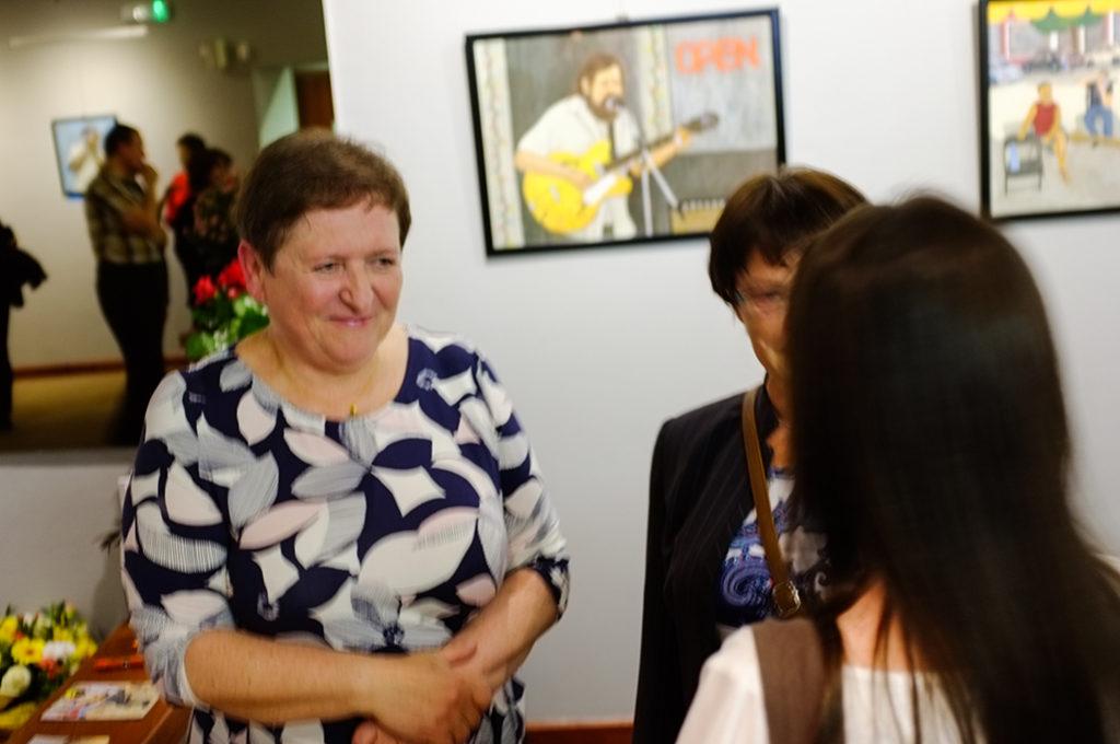 V poľskom Chorzowe otvorili 22. apríla 2017 výstavu obrazov