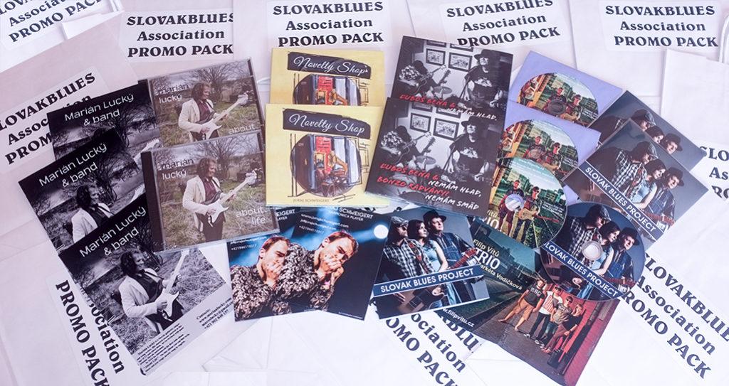 Propagačný balíček Slovakblues na Blues Market v Dánsku