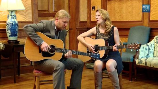 Gitaristka a speváčka Susan Tedeschi a Derek Trucks Tedeschi Trucks Band