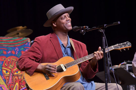 Acoustic Album The Happiest Man in the World Eric Bibb