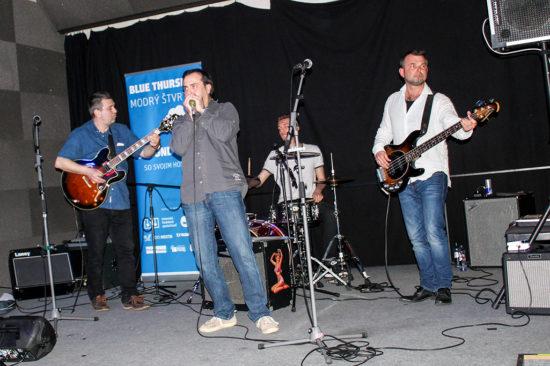 Second Band na Modrom štvrtku v Trnave