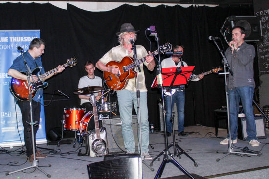 Second Band a Teo Bindas na Modrý štvrtok v Trnave