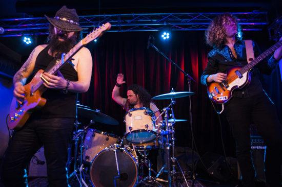 V pátek večer zahrál v Kolíne argentinský Demian Band