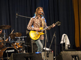 Americká kapelu The Steepwater Band na festivalu v Kolíne