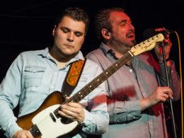 Belgická kapela Blues Bones v klubu na Rampě