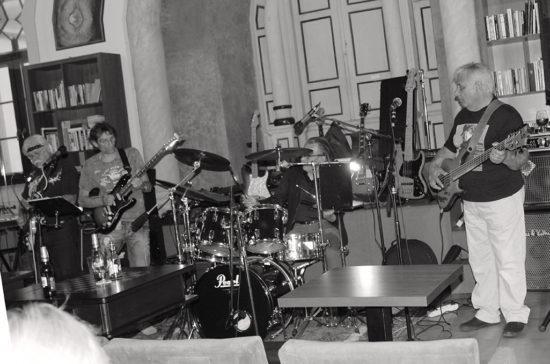 Koncert skupiny Bluesová svokra v trnavskej Synagóga Café