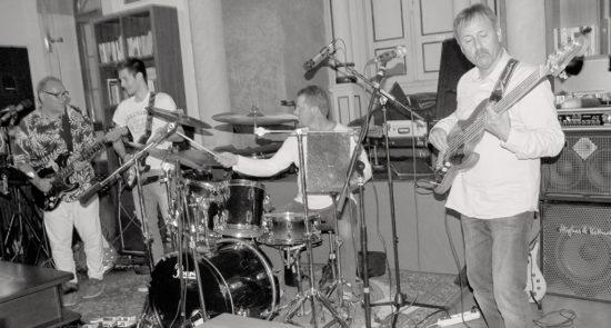Skupina W Band na koncerte v trnavskej Synagóga Café