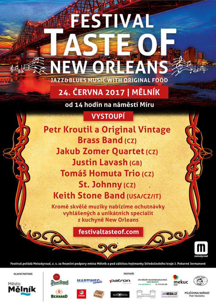 V sobotu 24. června se od 14 hodin uskuteční na mělnickém náměstí Míru tematický mezinárodní bluesový festival zaměřený na New Orleans