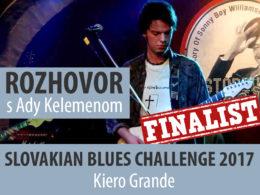 V rozhovore so spevákom a gitaristom Ady Kelemenom Vás priblížime slovenskú bluesovú kapelu Kiero Grande z Veľkého Kýru