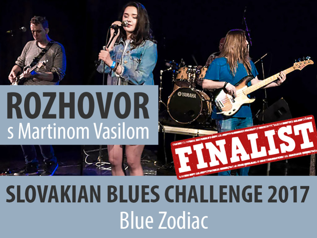 Rozhovor s gitaristom Martinom Vasilom o kapele Blue Zodiac