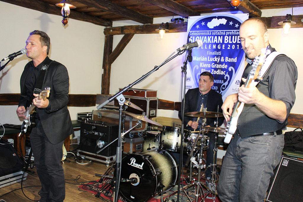 Celoslovenská súťažná prehliadka bluesových kapiel Slovakian Blues Challenge 2017 Skalica