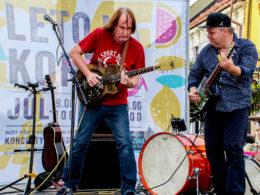 V sobotu 12. augusta 2017 v Trnave v rámci Leto na korze 2017 bluesové duo Ľuboš Beňa & Bonzo Radványi