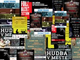 Bluesové festivaly 2017 na Slovensku