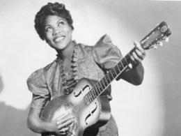 Bluesová speváčka, gitaristka a skladateľka Sister Rosetta Tharpe