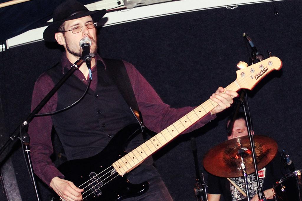 Koncert šamorínskej blues-rockovej kapely The Butchers v Art Klube v Trnave