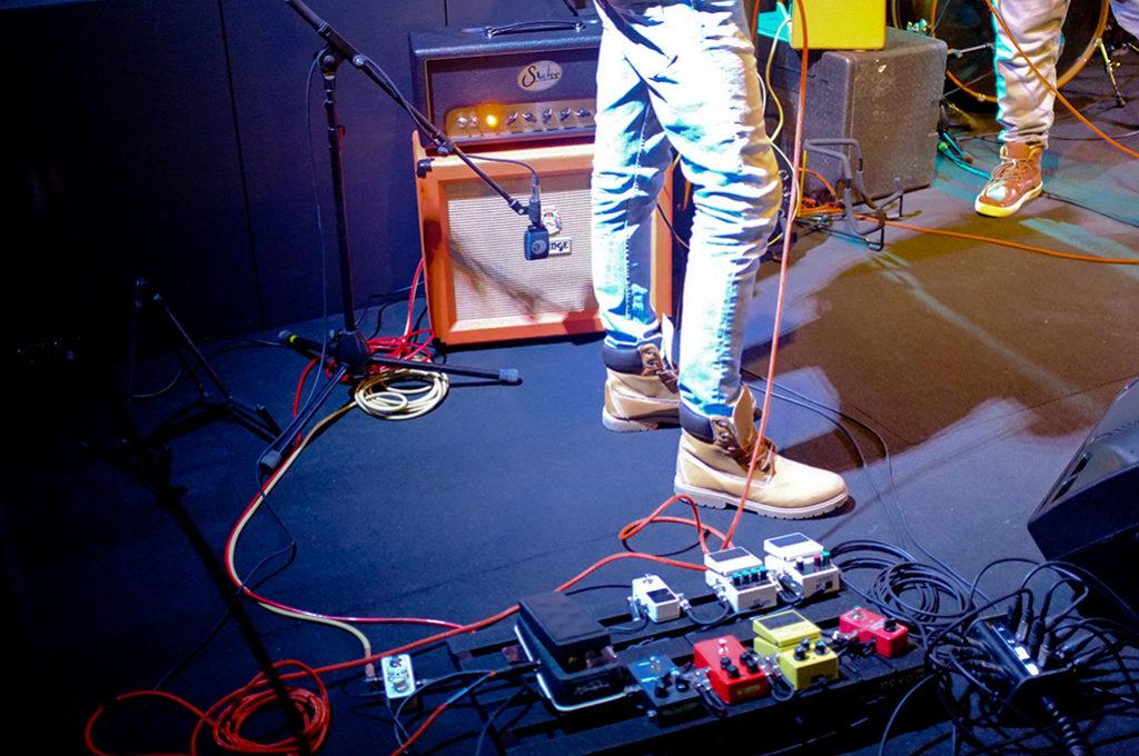 Kapela W Band hrala v Music Green Klube v Strážnici