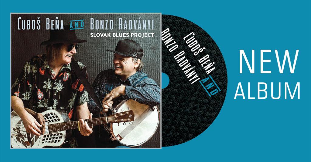 Slovenskí bluesmani Ľuboš Beňa a Bonzo Radványi vydali štúdiový album Slovak Blues Project