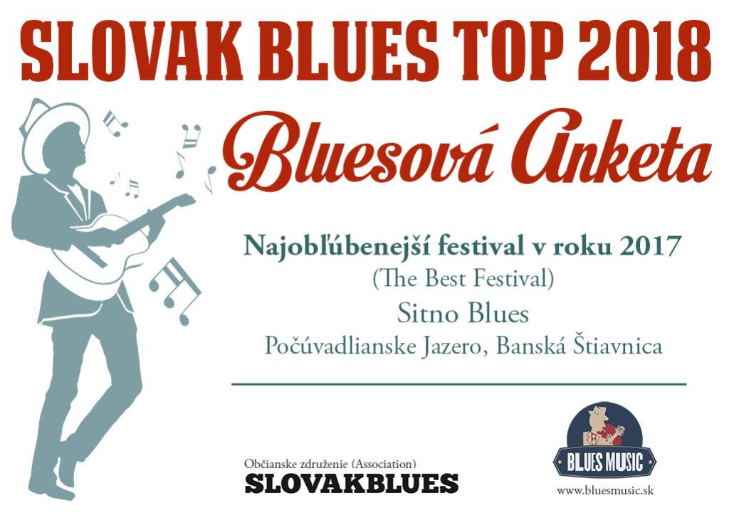 Najobľúbenejší festival v roku 2017 Sitno Blues,Počúvadlianske Jazero, Banská Štiavnica