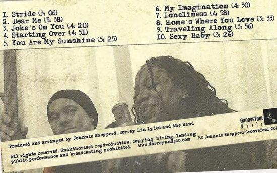 Album Johnnie Shepperd Band with Dorrey Lin Lyles – Getaway je súčasný blues ovplyvnený soulom a funky