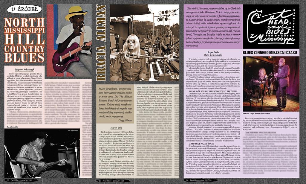 Vyšel zimní Twój Blues - Polský časopis o bluesové hudbě ve světe