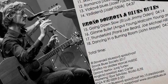 V poradí už trinásty CD výber bluesovej hudby Bluesová spoločnosť No. 13