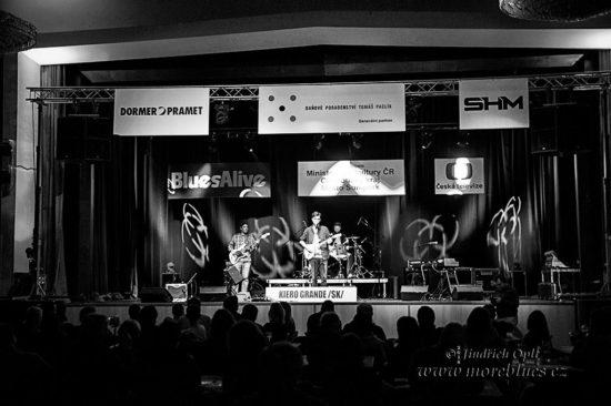 Medzinárodní soutěž Blues Aperitiv 2018 v Šumperku