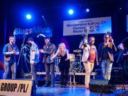 Medzinárodní soutěž kapel Blues Aperitiv 2018 v Šumperku